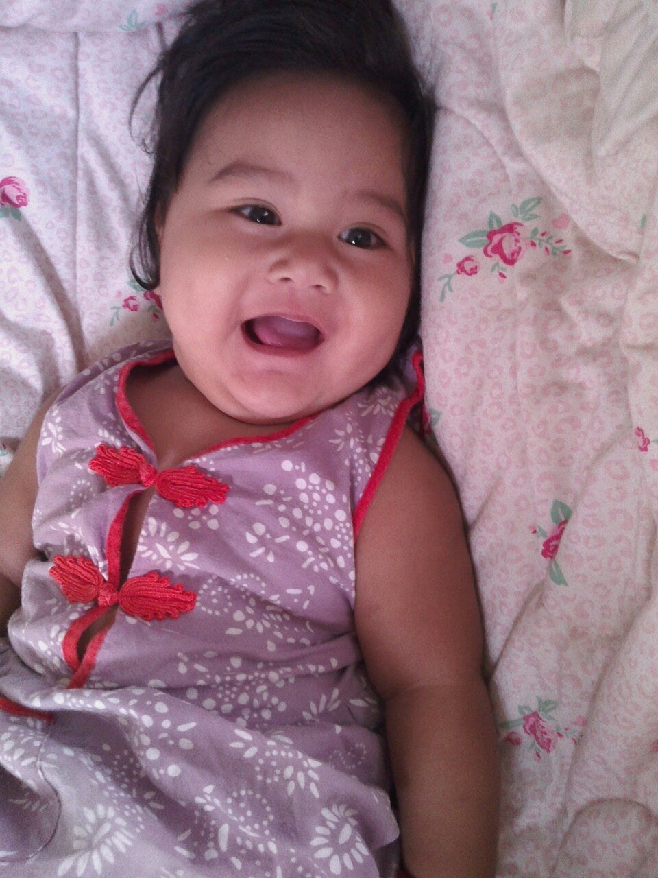 Audry A. Yu, 7 months old