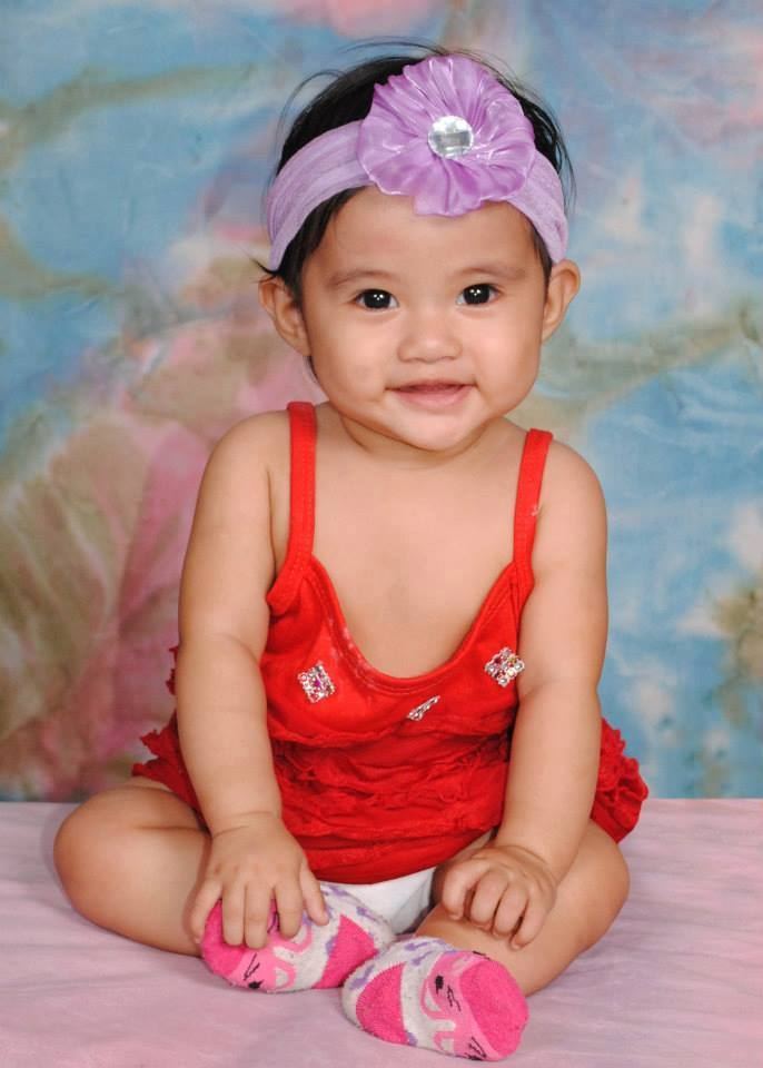 Shern Elloise P. Lanoy, 1 year and 5 months old