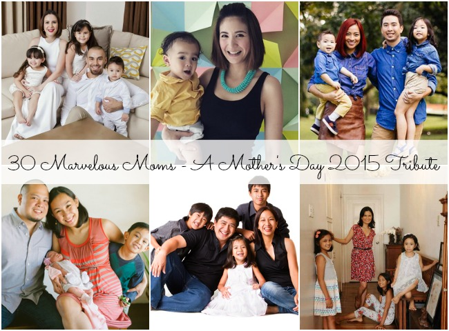 30 Marvelous Moms - A Mother's Day 2015 tribute