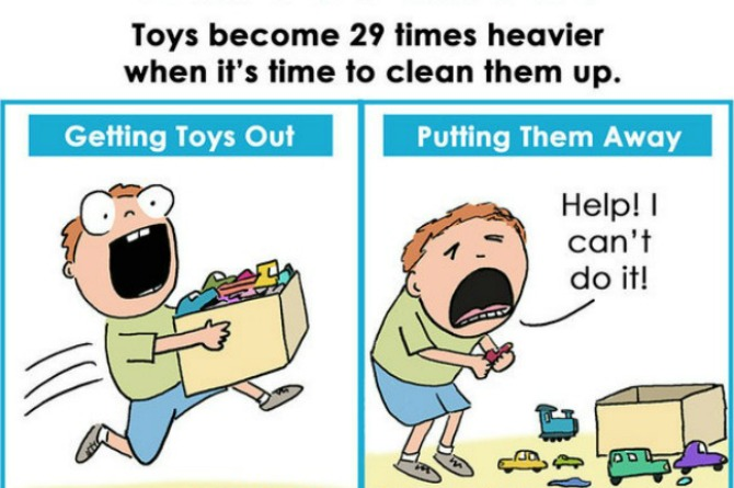 Mom's hilarious parenting comics are too accurate for words