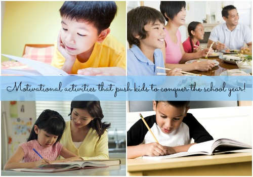 How to motivate your child to conquer the school year!