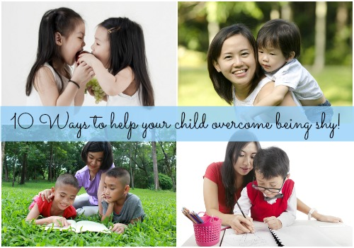 Help your kid overcome their shyness!
