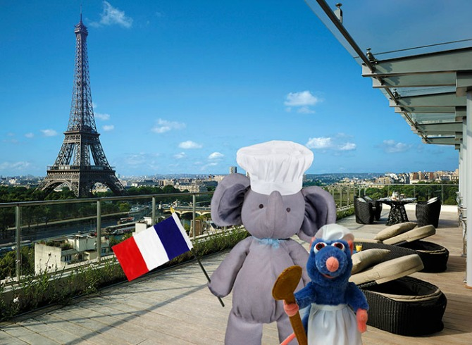Honing in on his culinary skills in Paris