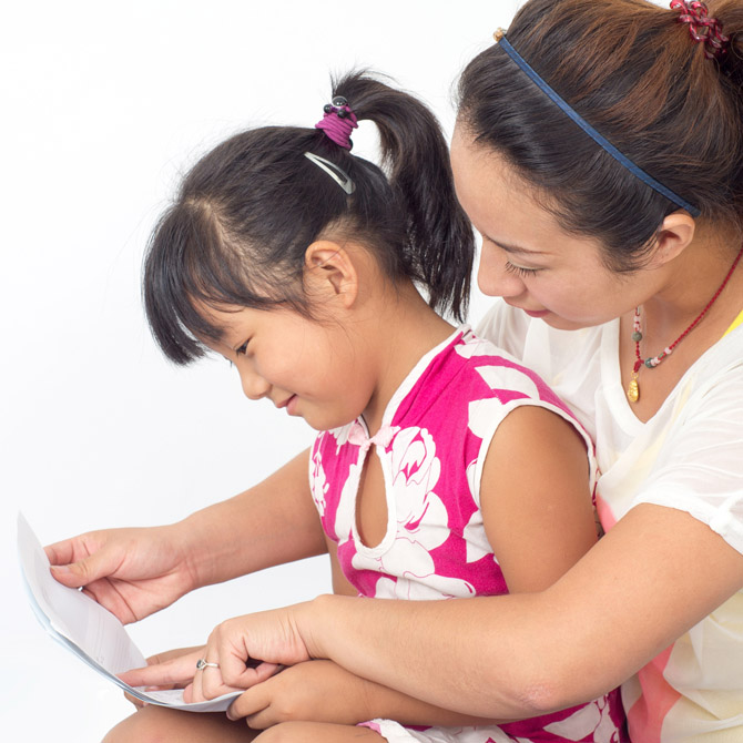 The solution:Therapy sessions and at-home learning