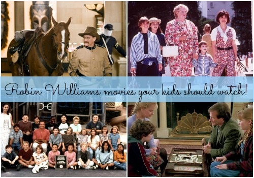 Robin Williams movies your kids should watch!