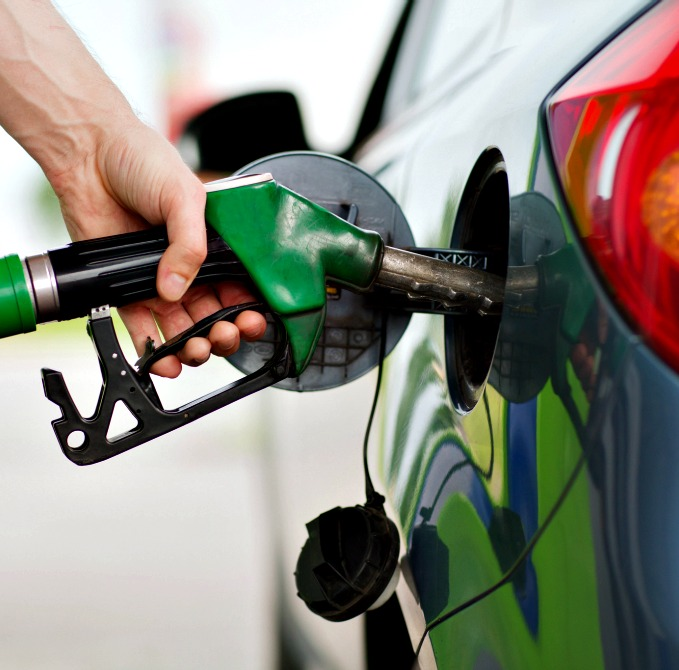 8. Fill the tank up