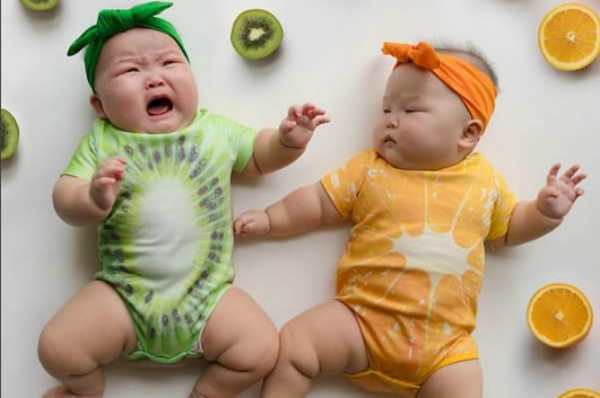 Someone's not a fan of citrus! Maybe she wanted to be a banana?