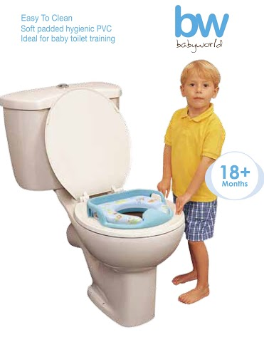 Baby World Baby Cushion Potty Seat P329.75 (regular), P489.75 (with handle support)