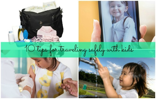 Tips for traveling safely with children