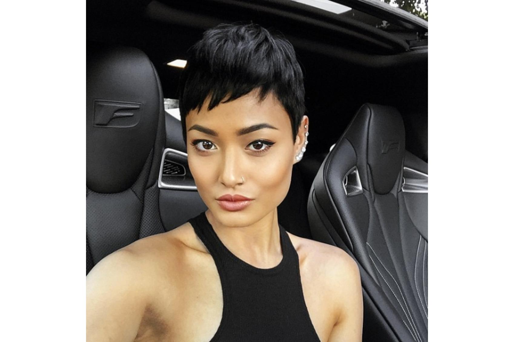 Feeling brave? Chop it all off and go for a pixie cut.