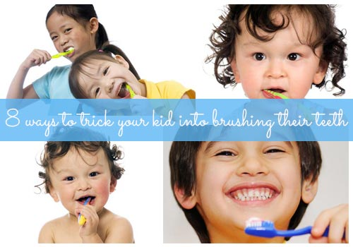 8 ways to trick your kid into brushing their teeth