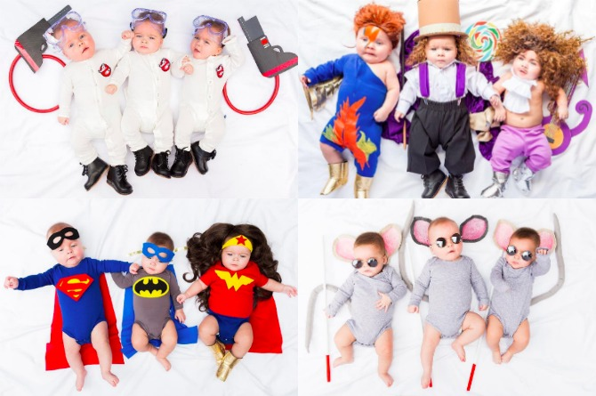 LOOK: These Triplets Are Going To Kill It This Halloween