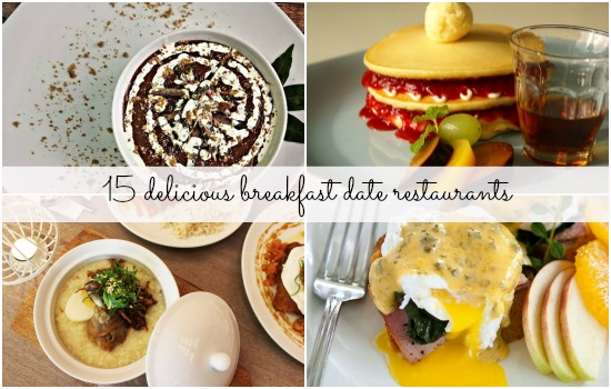15 places to go for a breakfast date