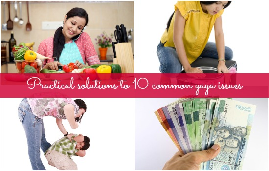 Solutions to common yaya problems