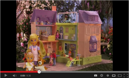 Caring Corners Mrs. Goodbee Talking Dollhouse screenshot from Youtube