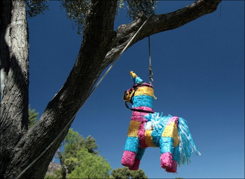 Make a pinata for your kid's party!