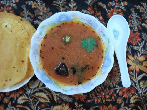 Rasam soup to clear your flu
