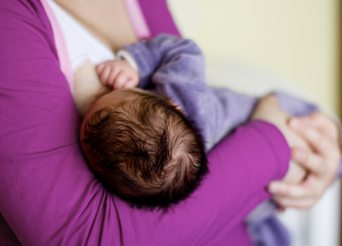 Breastfeeding another mother's baby?