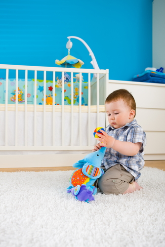 Baby room 'chi' for good Feng Shui