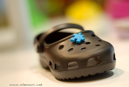 These Crocs are made for walking