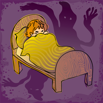 Get rid of your child's night time fears