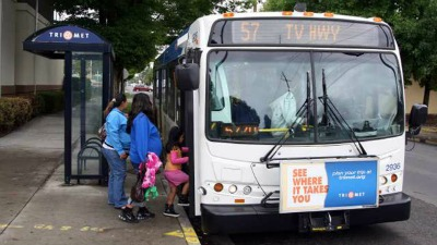 mum and crying baby kicked off bus