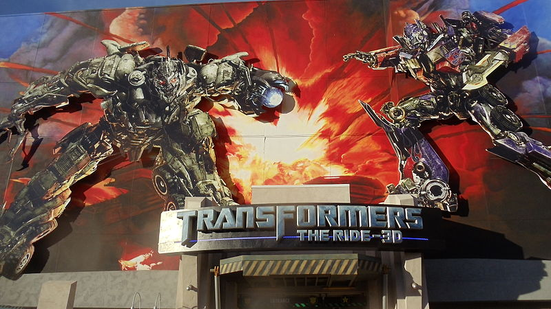 transformers the ride is coming to universal studios singapore. Black Bedroom Furniture Sets. Home Design Ideas