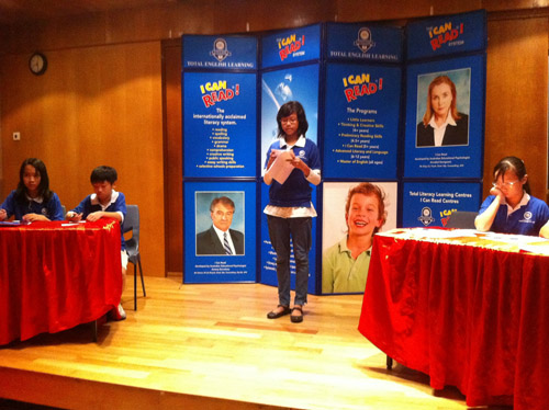 I Can Read National Debate Challenge 2011