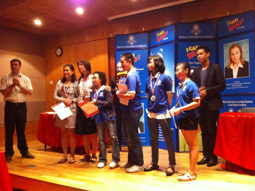 Grand finals of the I Can Read National Debate Challenge 2011