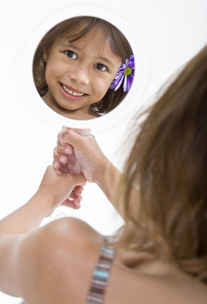Raising your little girl's self esteem and confidence