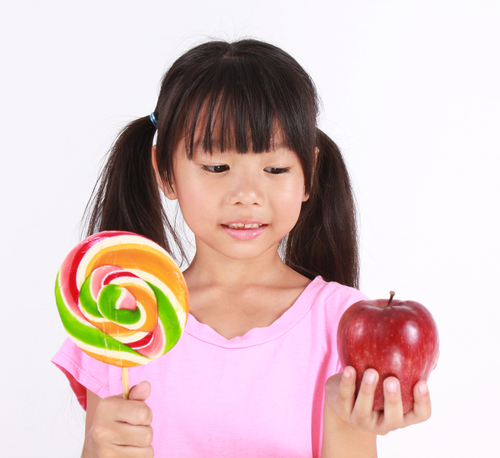 Teaching kids to make healthy food choices