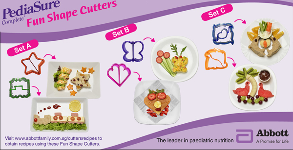 Jazz up your sandwiches with these cool cutters!