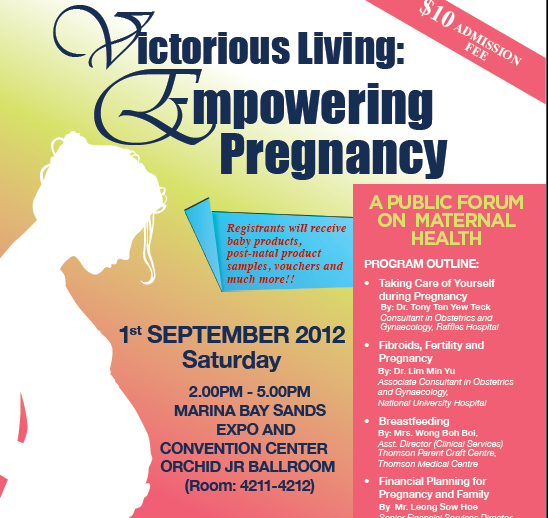 Victorious living: Empowering pregnancy