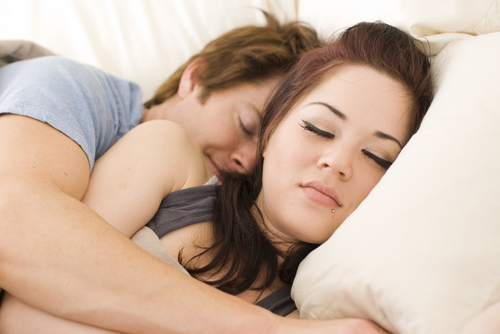 spooning male 10 couple sleeping positions that tell the state of your marriage