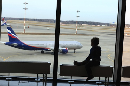 Layovers are good for families who are traveling with little ones!