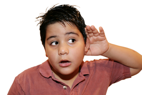 Is your child hearing properly?