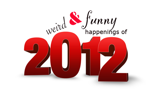 2012 Top 10 weird and funny happenings in the year 2012