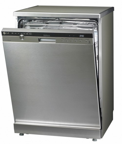 LG Dishwasher with Door Safety Lock system