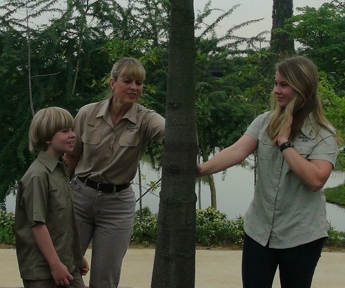 Interview with the Irwin family in Singapore