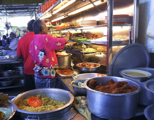 Chope food for the needy -- Singapore hawkers