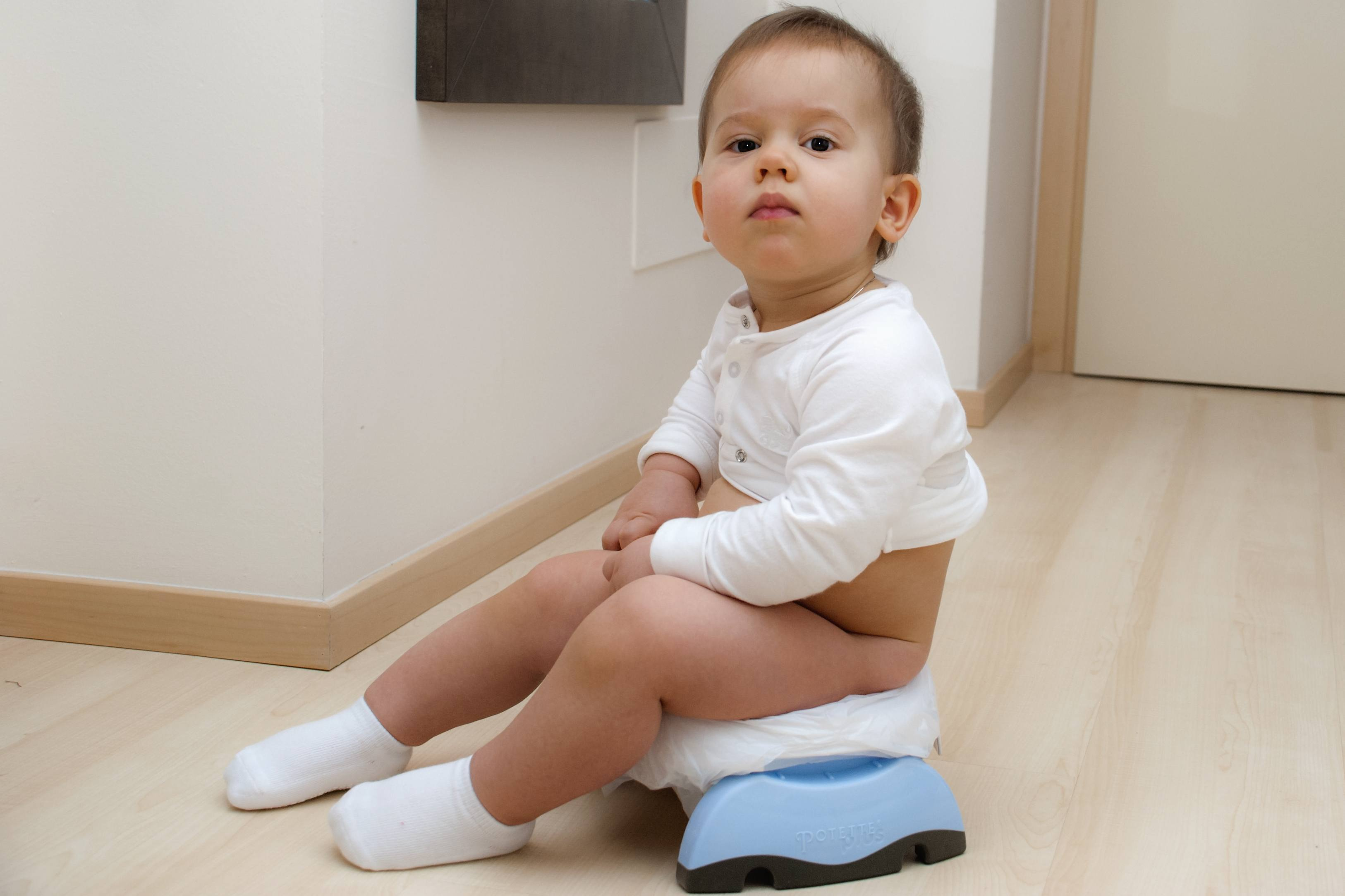 Potty training tips: coping with accidents