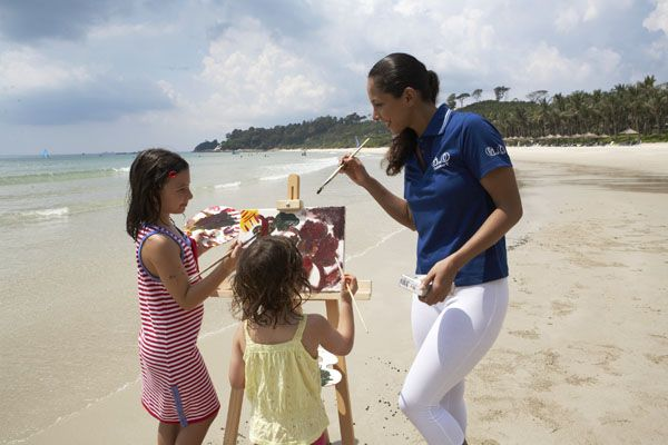 Join in the fun activities at Club Med Bintan