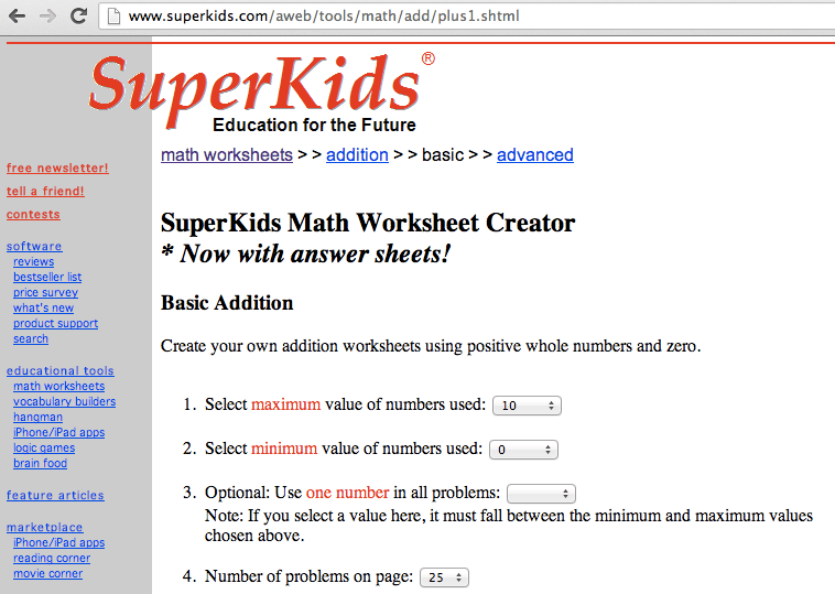 Best websites for Math Top 5 brain boosting maths websites – Superkids Math Worksheet Answers