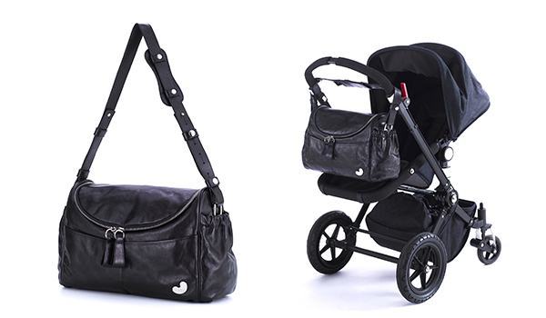 Tribe_Singapore Sling_Midnight Silver_Front and On Bugaboo