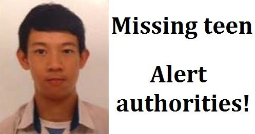 Yu Pa Aung missing teenager in Singapore