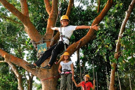 forest adventure 10 unique birthday party venues in Singapore