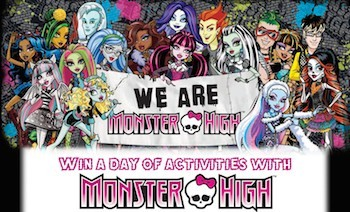 Win a day of activities with Monster High, worth $130!