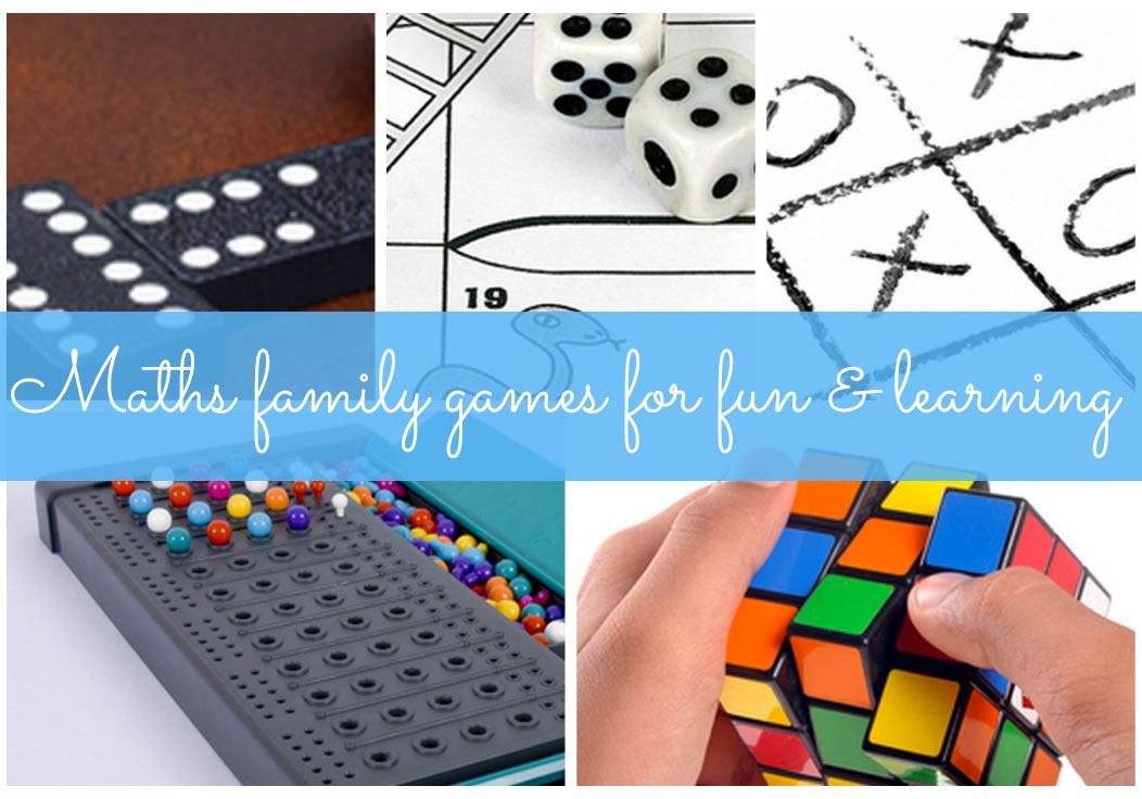 Amazing maths family games for fun and learning