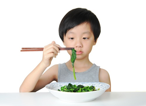 child's slow eating