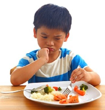 Is your child a small eater?